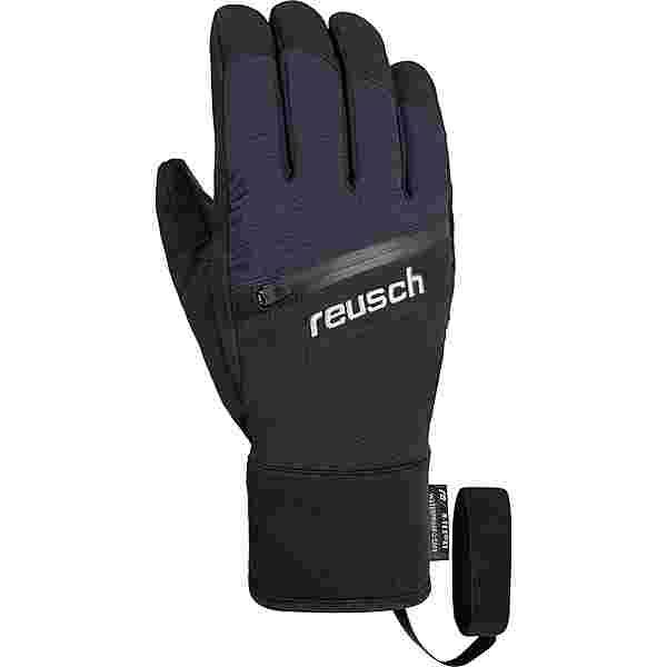 Reusch Theo R-TEX® XT Skihandschuhe black / dress blue