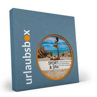 Urlaubsbox Sport & Spa Geschenkbox grau