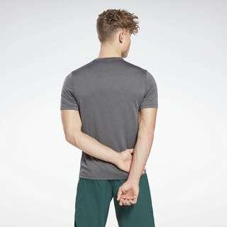 Reebok Workout Ready Mélange T-Shirt Funktionsshirt Herren Schwarz