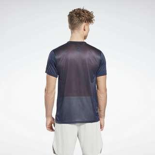 Reebok Workout Ready Tech T-Shirt Funktionsshirt Herren Blau
