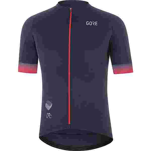 GORE® WEAR Cancellara Trikot Herren orbit blue-red