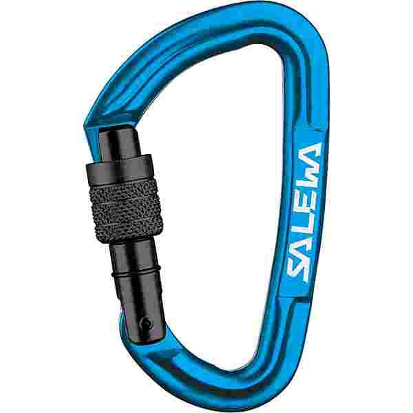 SALEWA HOT G3 SCREW CARABINER Karabiner blue