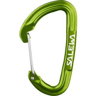 SALEWA HOT G3 WIRE CARABINER Karabiner fluo green
