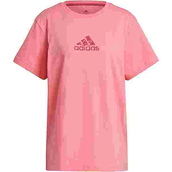 adidas Brand Icons T-Shirt Damen hazy rose