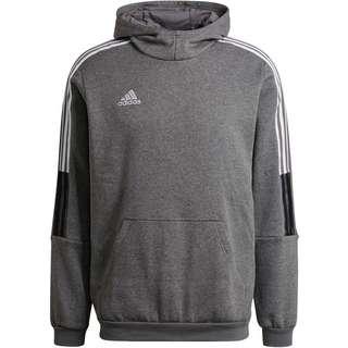adidas Tiro 21 Hoodie Herren grey four mel-sld
