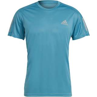 adidas Own the Run Response Aeroready Funktionsshirt Herren hazy blue