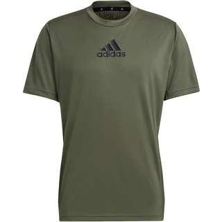 adidas Designed2Move Aeroready Funktionsshirt Herren lagacy green