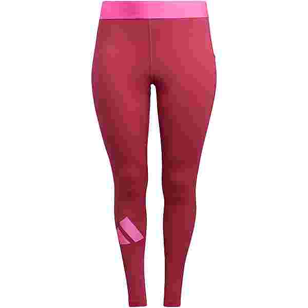 adidas Tights Damen wild pink-screaming pink