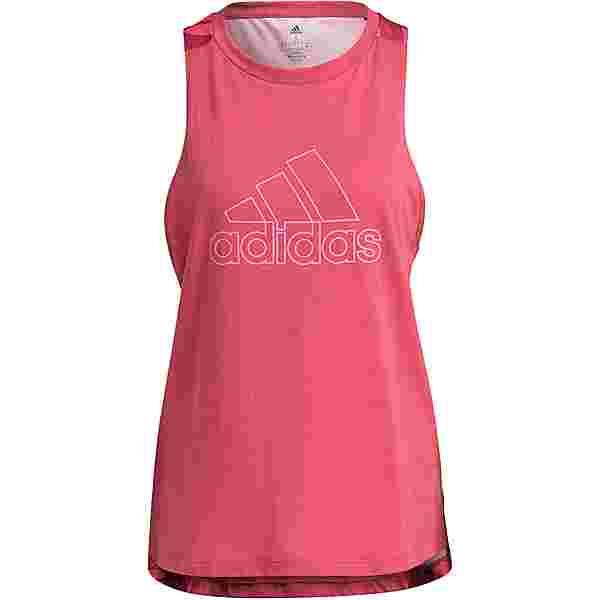 adidas CELEB RESPONSE AEROREADY Funktionstank Damen wild pink