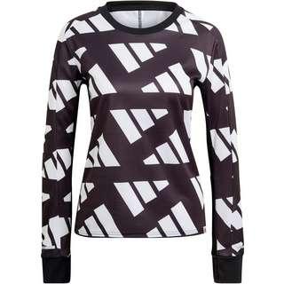 adidas CELEB RESPONSE AEROREADY Funktionsshirt Damen black-white