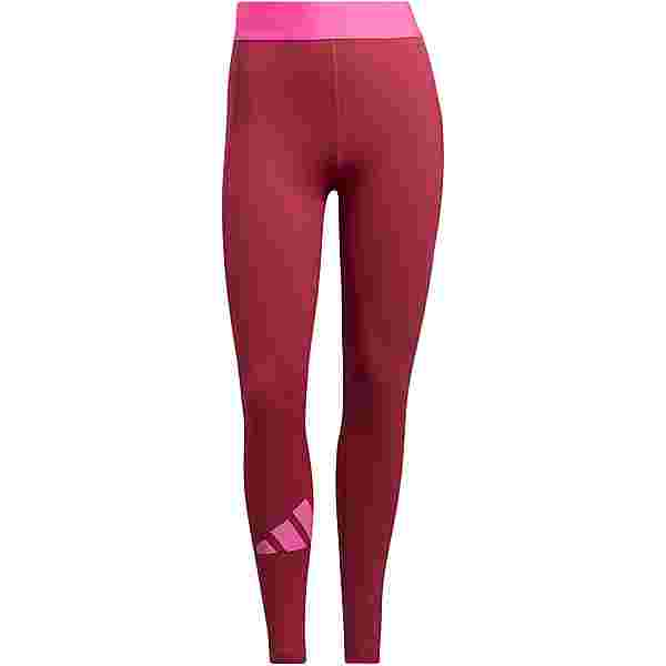 adidas ADILIFE TECH-FIT AEROREADY Tights Damen wild pink-screaming pink