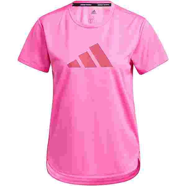 adidas DESIGNED4TRAINING AEROREADY Funktionsshirt Damen screaming pink-wild pink