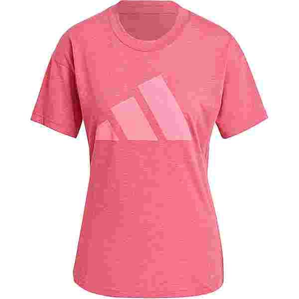 adidas WIN 2.0 SPORT MUST HAVES ENHANCED T-Shirt Damen wild pink mel