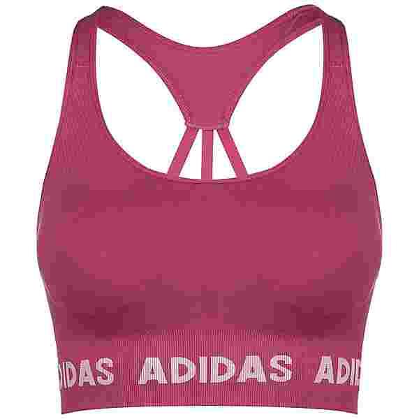 adidas AEROKNIT DESIGNED4TRAINING BH Damen screaming pink