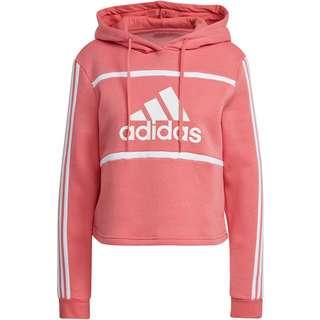 adidas SPORT ESSENTIALS Hoodie Damen hazy rose-white