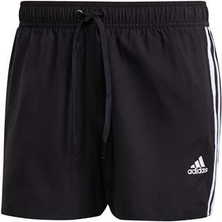 adidas 3-Stripes Classics Badeshorts Herren black-white