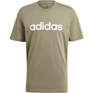adidas Linear Essentials T-Shirt Herren lagacy green