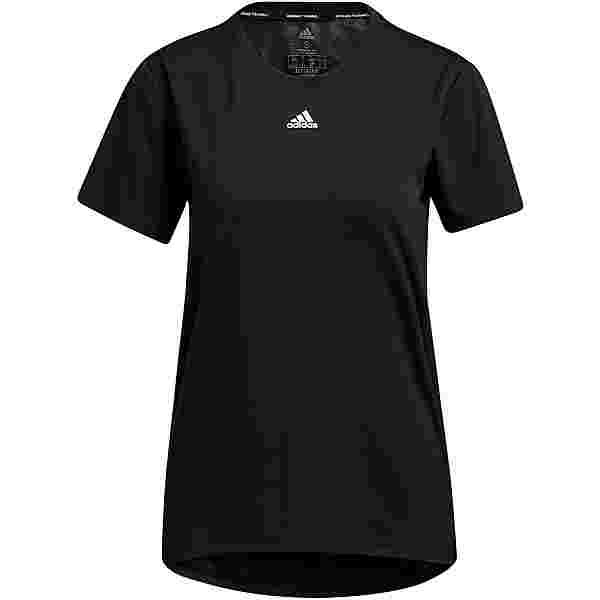 adidas NECESSI AEROREADY Funktionsshirt Damen black-white