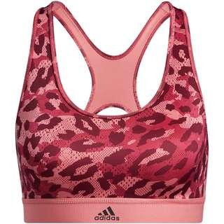 adidas DESIGNED4TRAINING AEROREADY BH Damen hazy rose-print