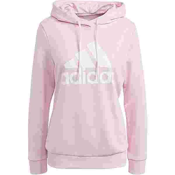 adidas SPORT ESSENTIALS Hoodie Damen clear pink-white