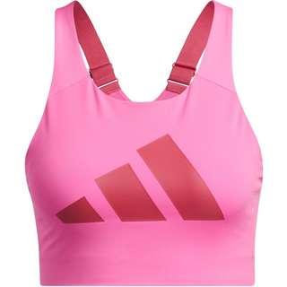 adidas Ultimate ALPHA ADI AEROREADY BH Damen screaming pink-wild
