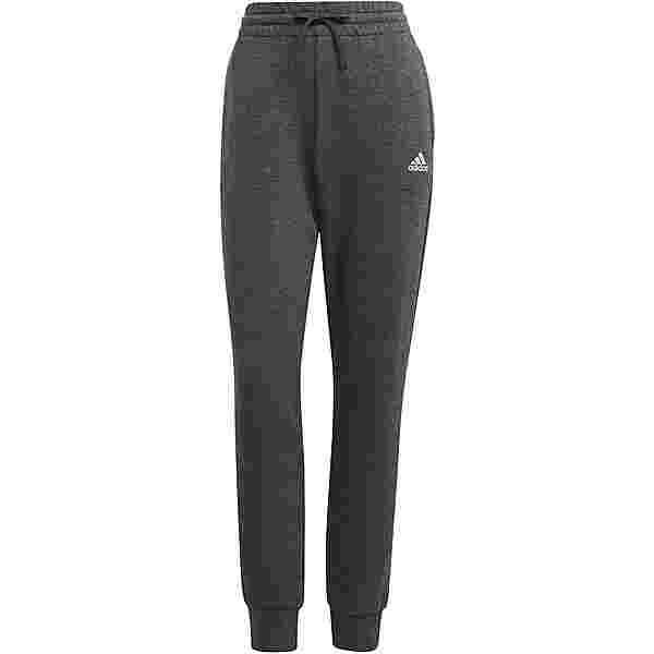 adidas LINEAR SPORT ESSENTIALS Sweathose Damen dark grey heather-clear pink