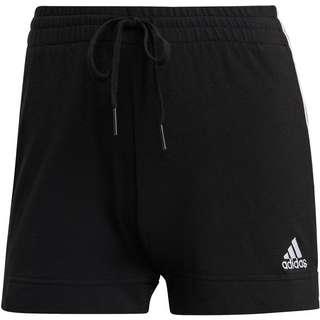 adidas 3-STRIPES SPORT ESSENTIALS Sweatshorts Damen black-white