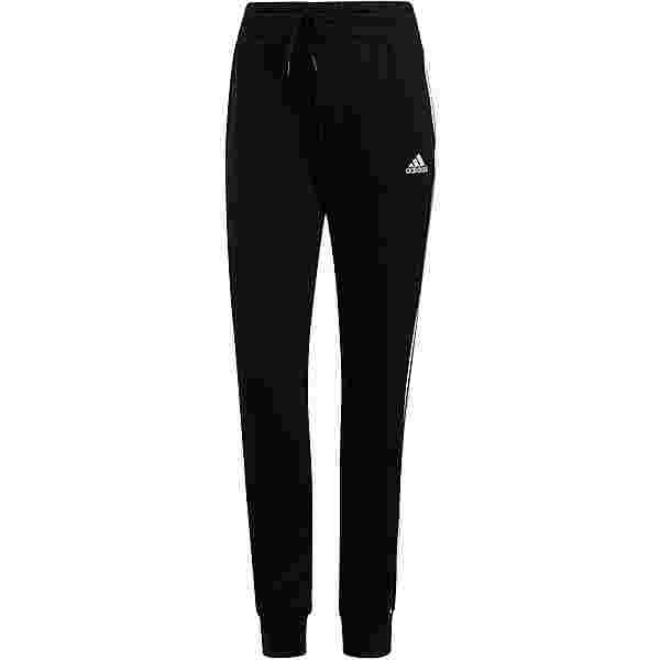 adidas 3-STRIPES SPORT ESSENTIALS Sweathose Damen black-white