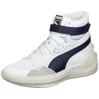 PUMA Sky Modern Basketballschuhe Herren weiß / dunkelblau
