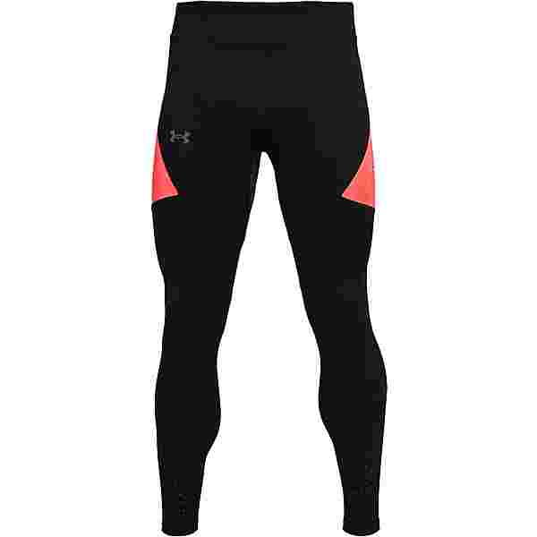 Under Armour Speedpocket Lauftights Herren black-venomred-reflective