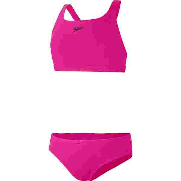 SPEEDO Essential Endurance+ Medalist Bikini Set Kinder electric pink