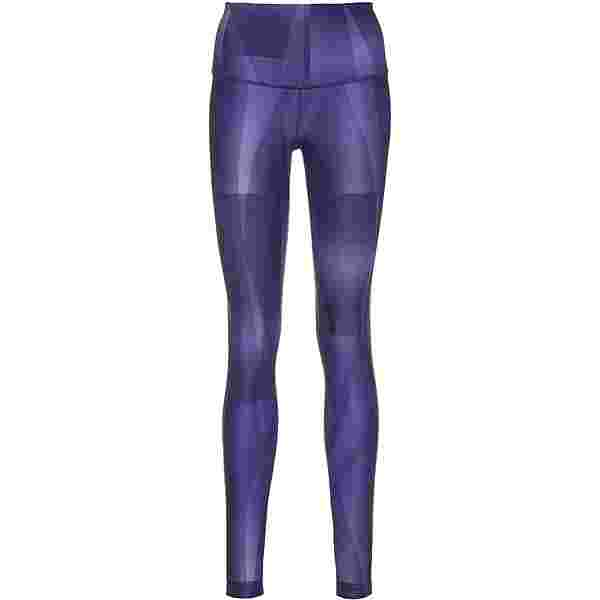 Reebok LUX STUDIO Tights Damen dark orchid