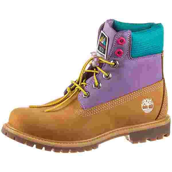 TIMBERLAND 6 Inch Premium Boots Damen wheat nubuck