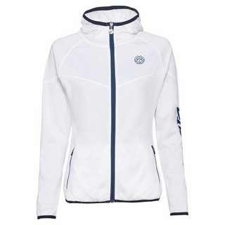 BIDI BADU Inga Tech Jacket Funktionsjacke Damen weiß/dunkelblau