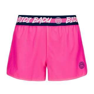 BIDI BADU Raven Tech Shorts (2 in 1) Tennisshorts Damen pink/dunkelblau