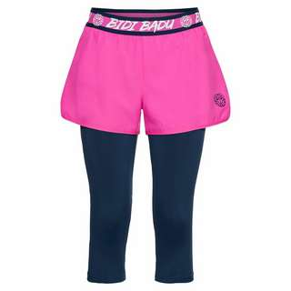 BIDI BADU Flora Tech Shopri Tennisshorts Kinder pink/dunkelblau