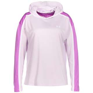 Under Armour Tech Twist Graphic Hoodie Damen flieder