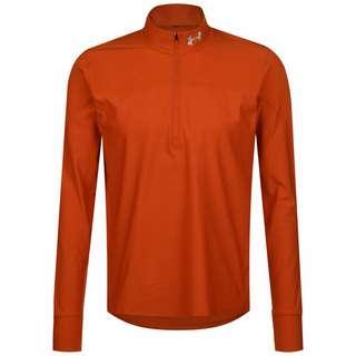 Under Armour HeatGear Qualifier Half Zip Laufshirt Herren orange