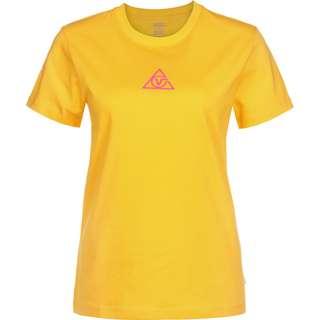 Vans 66 Supply Tri Crew T-Shirt Damen gelb