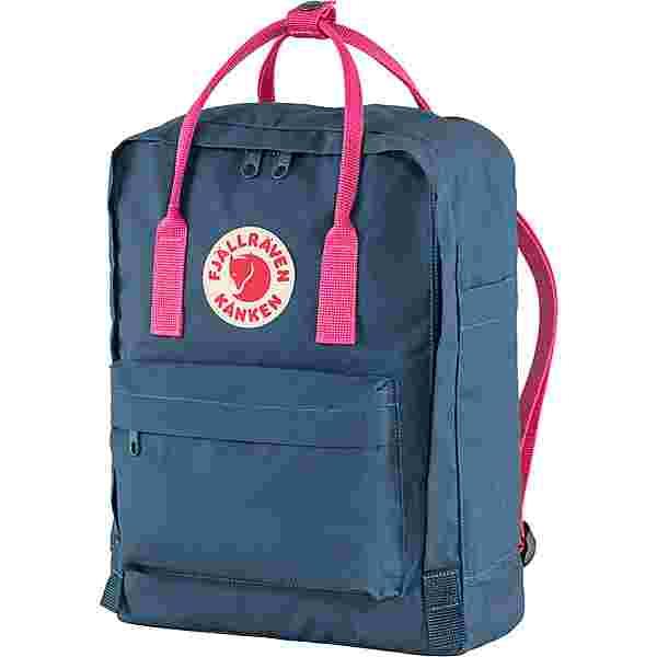 FJÄLLRÄVEN Rucksack Kånken Daypack royal blue- flamingo pink