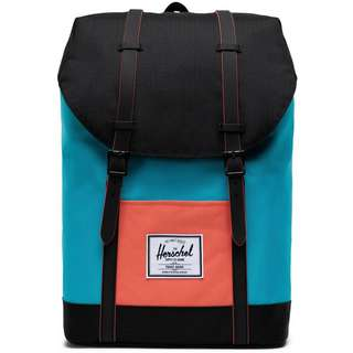 Herschel Rucksack Retreat Daypack blue bird-black-emberglow
