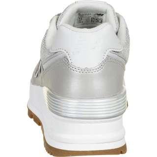 NEW BALANCE 574 Sneaker Damen silber