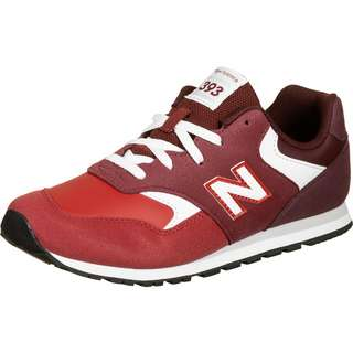 NEW BALANCE YC393 M Sneaker Kinder rot