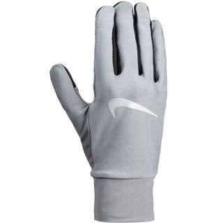 Nike Lightweight Tech Laufhandschuhe Herren smoke grey-black-silver