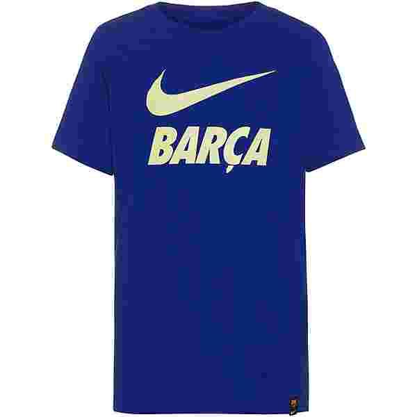 Nike FC Barcelona T-Shirt Kinder deep royal blue