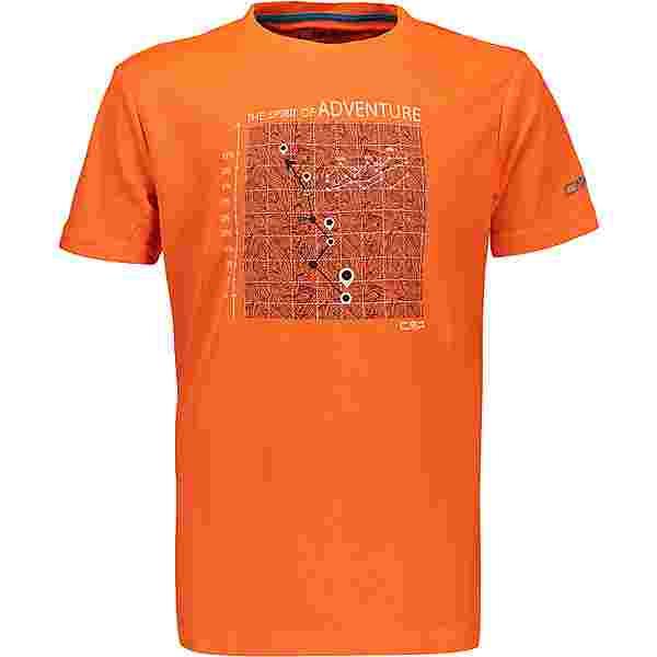CMP Funktionsshirt Kinder flash orange
