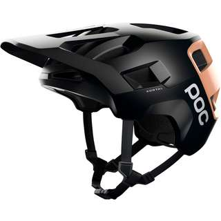 POC Kortal Fahrradhelm uranium black-light citrine orange matt