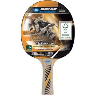 Donic-Schildkröt Legends 300 Tischtennisschläger schwarz