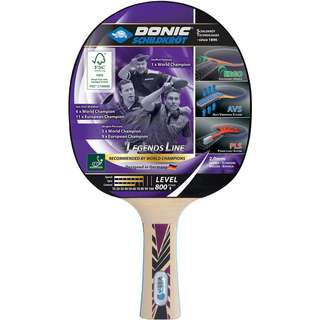 Donic-Schildkröt Legends 800 Tischtennisschläger schwarz