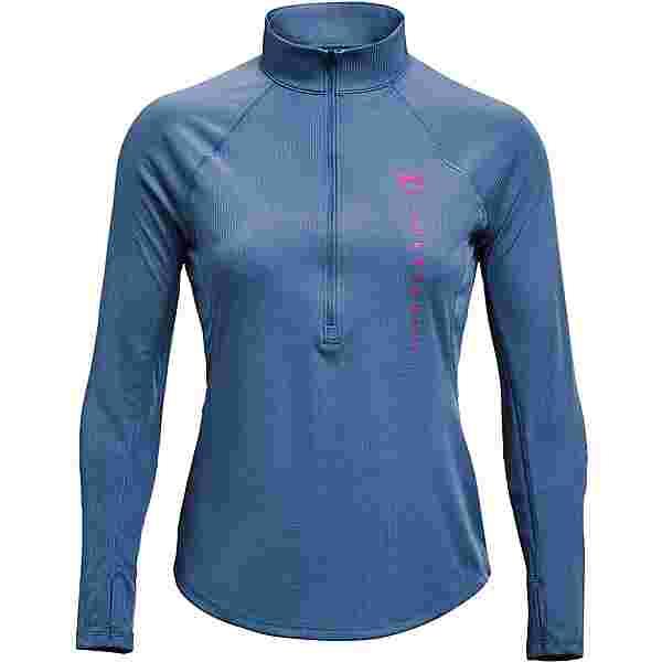 Under Armour Speed Stride Attitude Funktionsshirt Damen mineral blue